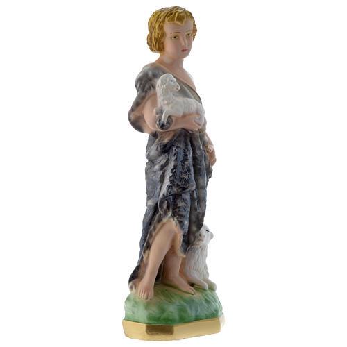 San Juan Bautista 30 cm imagen yeso perlado | venta online en HOLYART