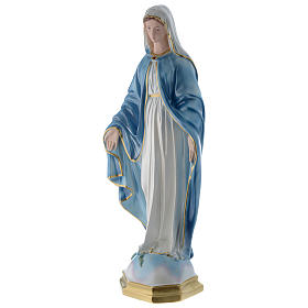 Our Lady of Miracles statue 24 inch in mother of pearl plaster s3