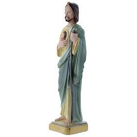 Statua San Giuda 20 cm gesso madreperlaceo s2