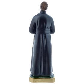 Estatua San Gerardo 30 cm yeso nacarado s3