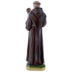 Statua Sant'Antonio da Padova 50 cm gesso madreperlaceo s5