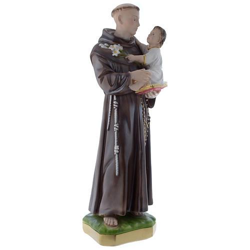 Statua Sant'Antonio da Padova 50 cm gesso madreperlaceo 3
