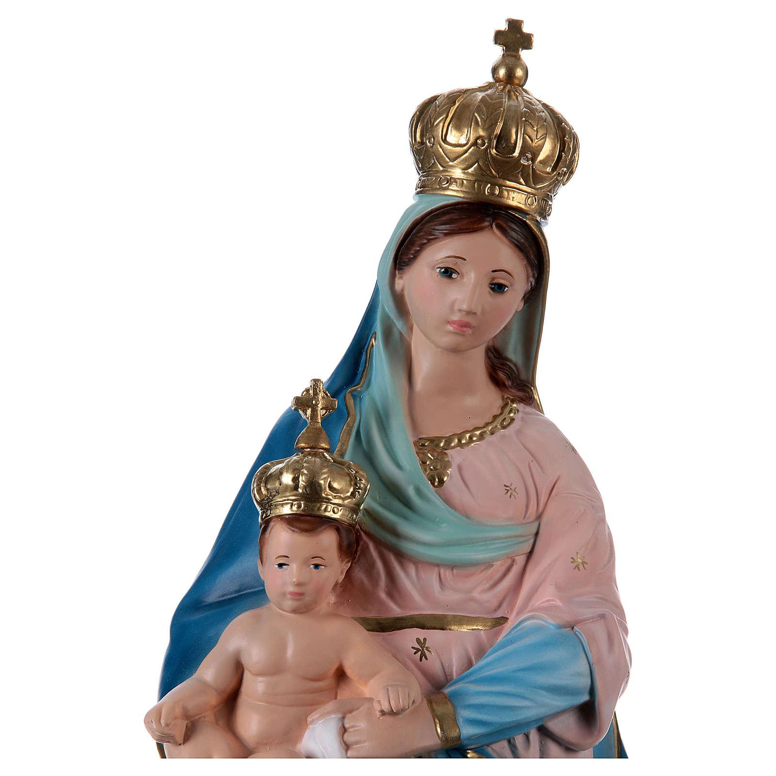 Statua Madonna delle Grazie 60 cm gesso  4