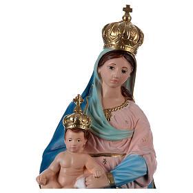 Statua Madonna delle Grazie 60 cm gesso  s2