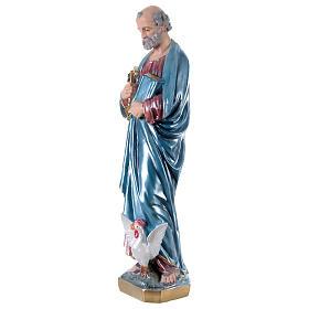 Estatua de yeso San Pedro 60 cm s3