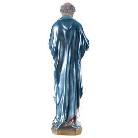 Estatua de yeso San Pedro 60 cm s5