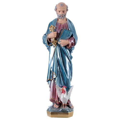 Estatua de yeso San Pedro 60 cm 1