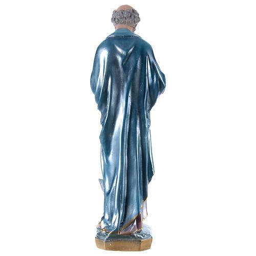 Estatua de yeso San Pedro 60 cm 5