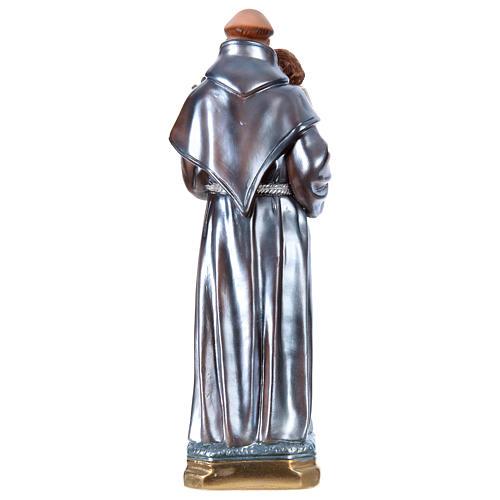 San Antonio de Padua yeso efecto nacarado 40 cm 4