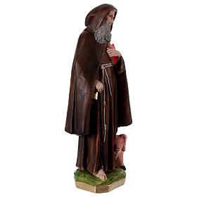 Saint Anthony the Abbot Statue, in plaster, 60 cm s4