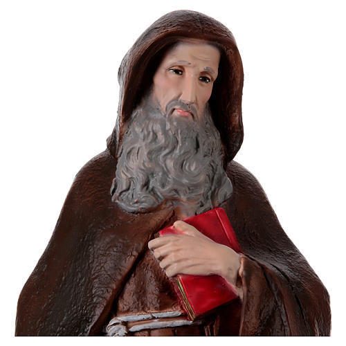 Saint Anthony the Abbot Statue, in plaster, 60 cm 2