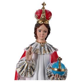 Enfant Jésus de Prague plâtre 50 cm s2