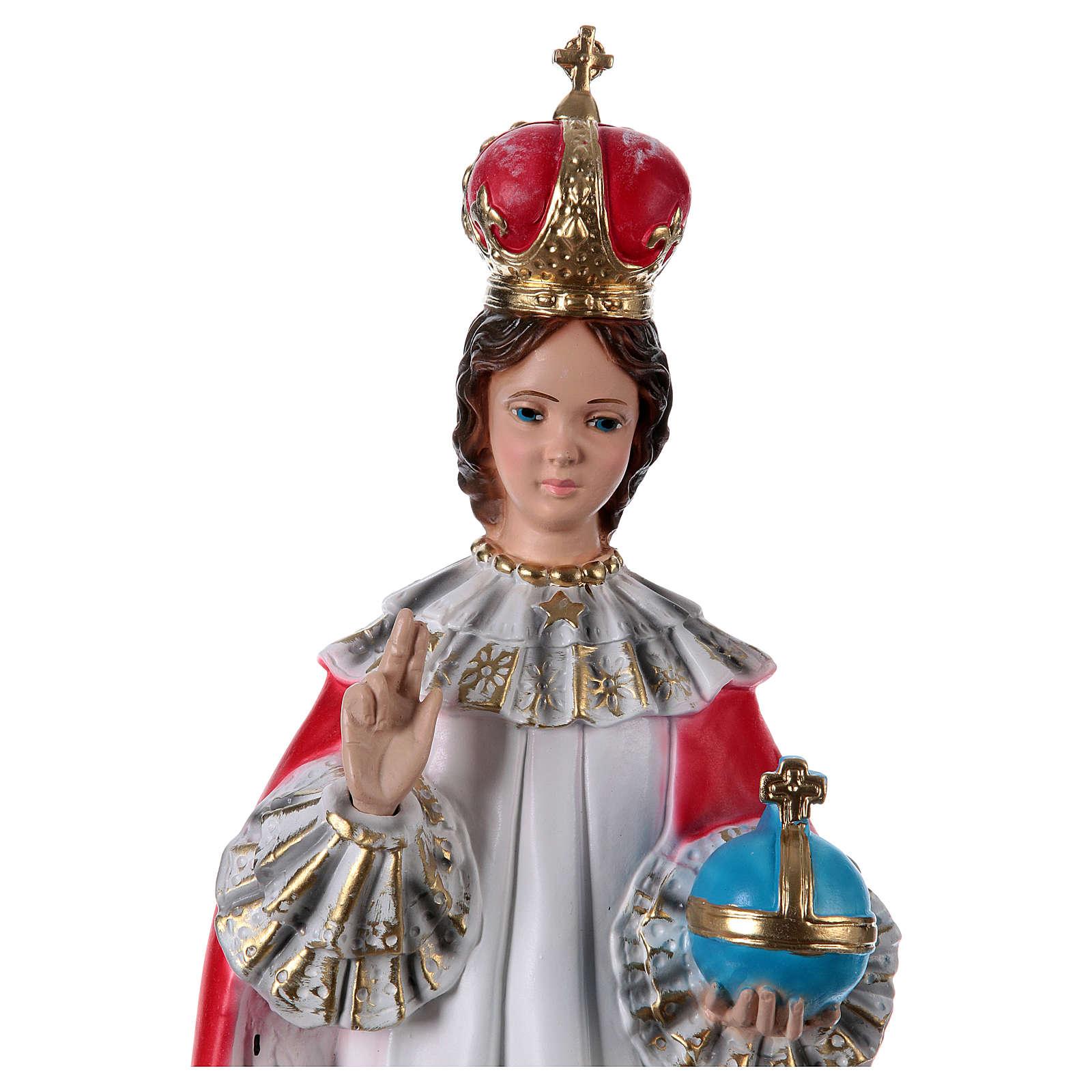 Menino Jesus de Praga gesso 50 cm 4