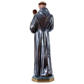 Statue in gesso Sant'Antonio madreperlato 60 cm  s5