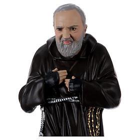 Padre Pio 55 cm in plaster s2