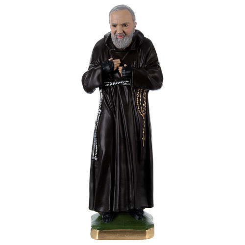 Padre Pio 55 cm in plaster 1