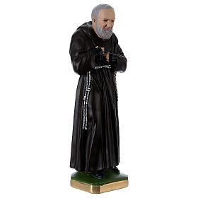 Estatua Padre Pío 55 cm yeso s4
