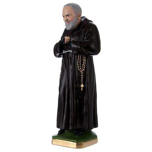 Estatua Padre Pío 55 cm yeso 3