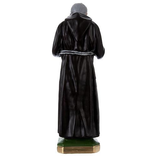 Estatua Padre Pío 55 cm yeso 5