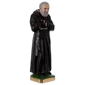 Statue Padre Pio 55 cm plâtre s4