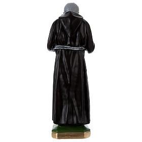 Statue Padre Pio 55 cm plâtre s5