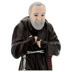 Statue Padre Pio 55 cm plâtre s2