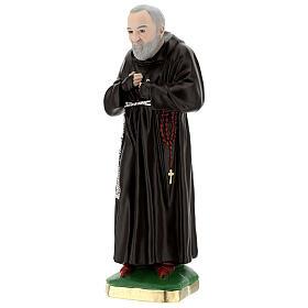 Statue Padre Pio 55 cm plâtre s3