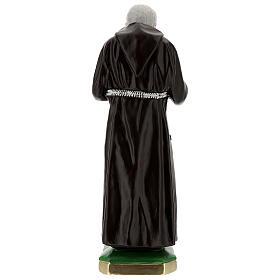 Statue Padre Pio 55 cm plâtre s6