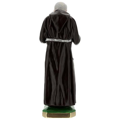Statue Padre Pio 55 cm plâtre 6
