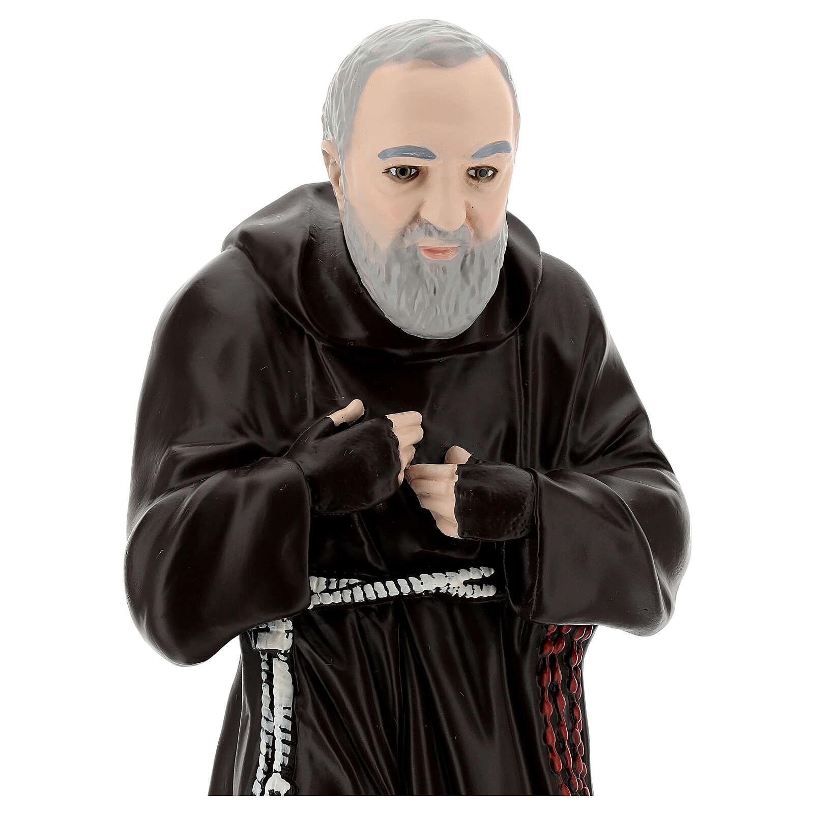Statua Padre Pio 55 cm gesso 4