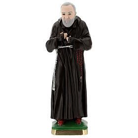 Statua Padre Pio 55 cm gesso s1