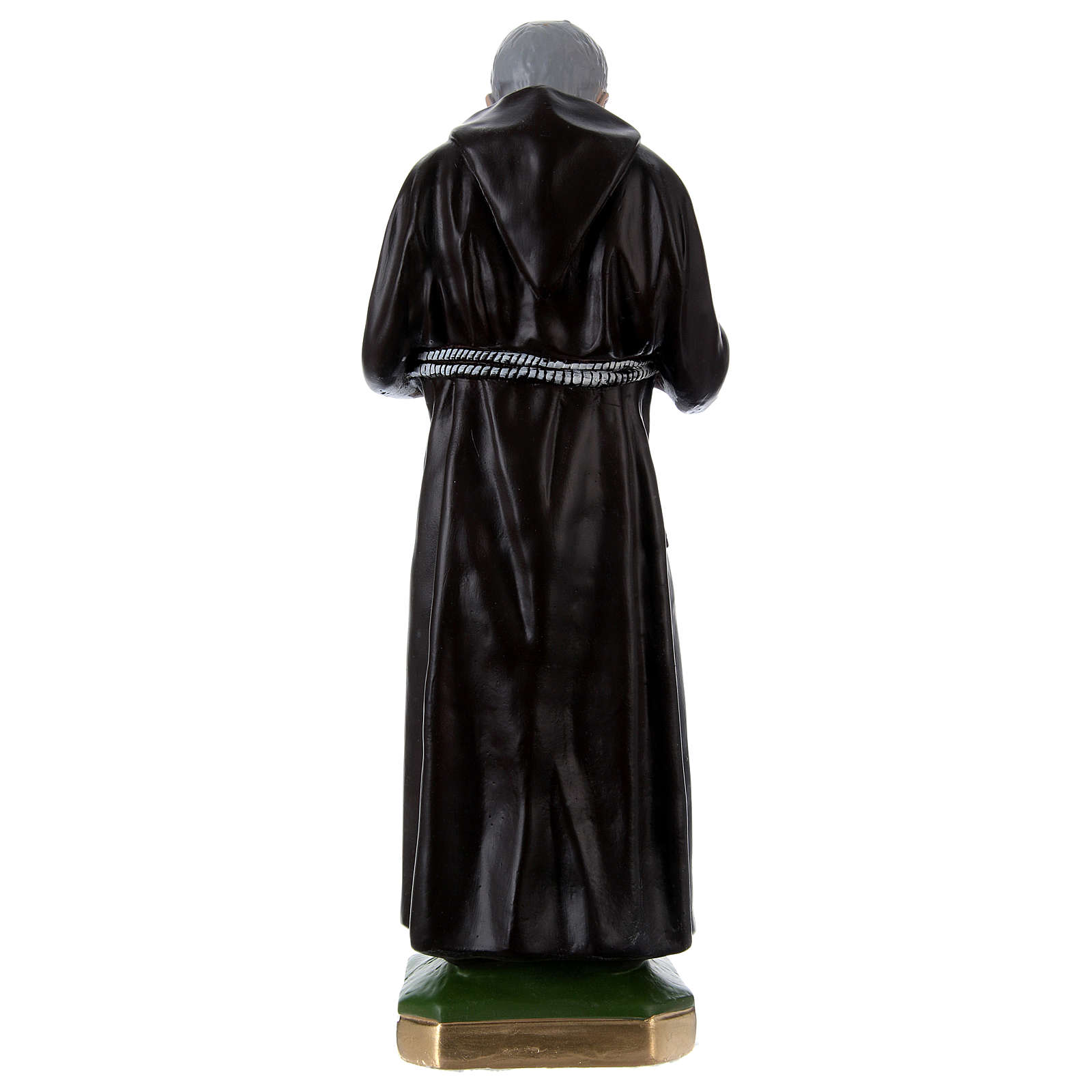 Padre Pio Statue, 55 cm in plaster 4