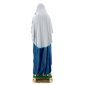 Virgin Mary with child 60 cm in plaster s5