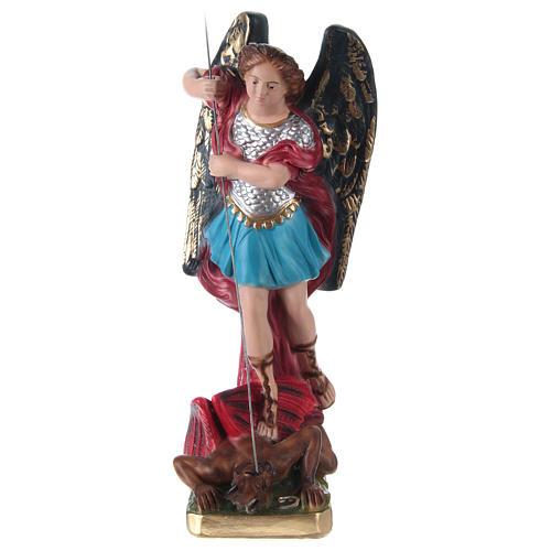 Estatua de yeso San Miguel 30 cm 1