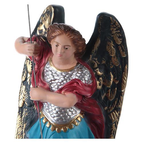 Estatua de yeso San Miguel 30 cm 2