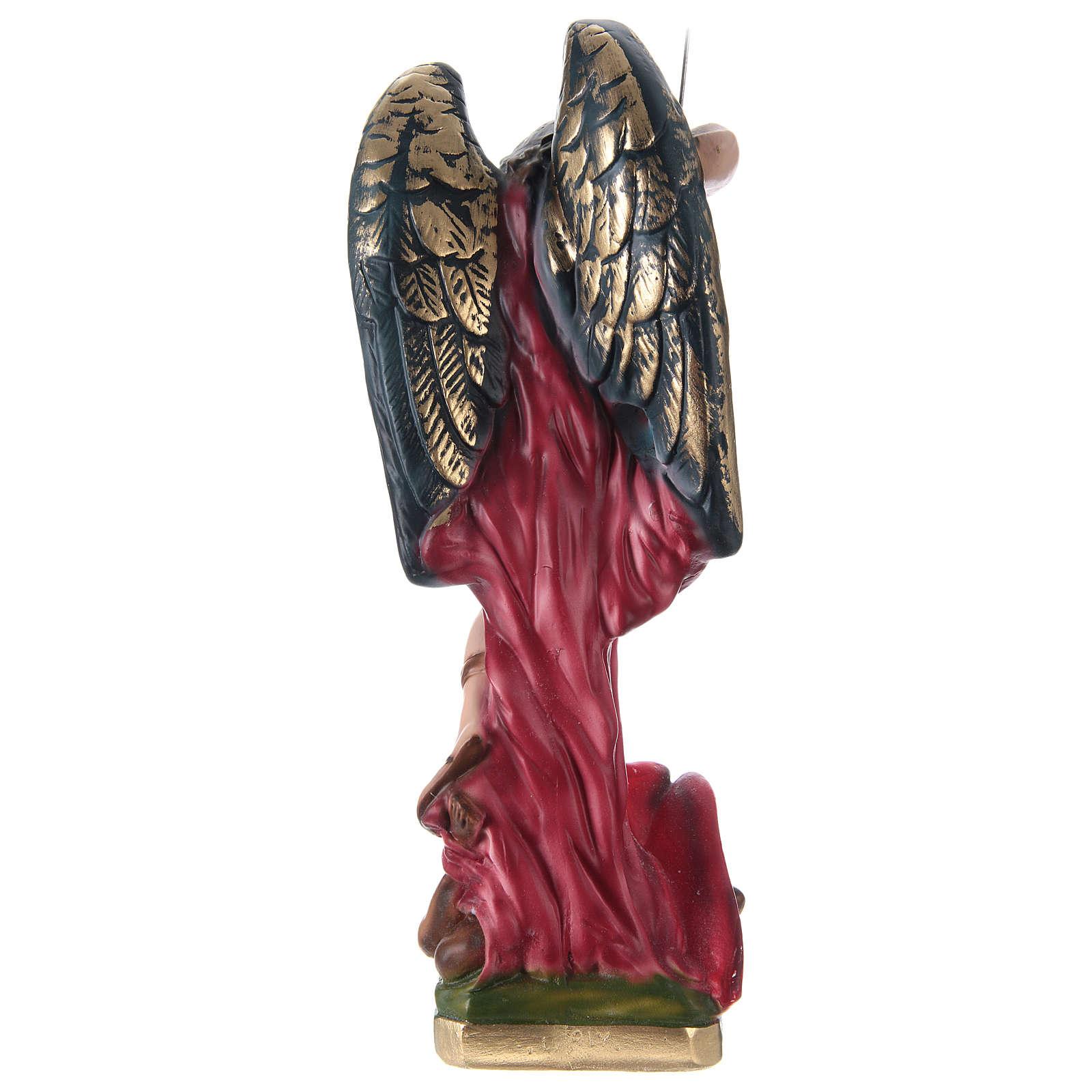 Saint Michael Statue, 30 cm in plaster 4