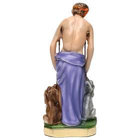 Estatua de yeso San Lazaro 30 cm s5