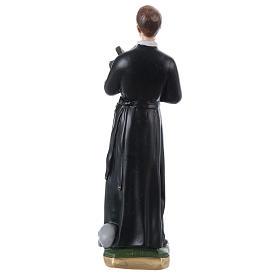 Estatua de yeso nacarado San Gerardo 30 cm s4