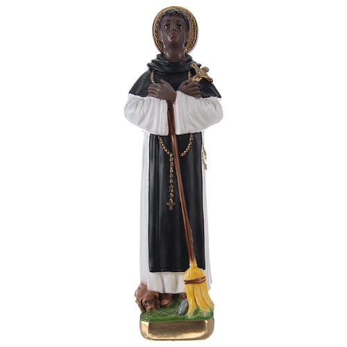San Martín de Porres yeso 30 cm 1