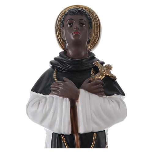 San Martín de Porres yeso 30 cm 2
