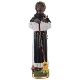 San Martino di Porres gesso 30 cm s1