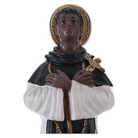 San Martino di Porres gesso 30 cm s2