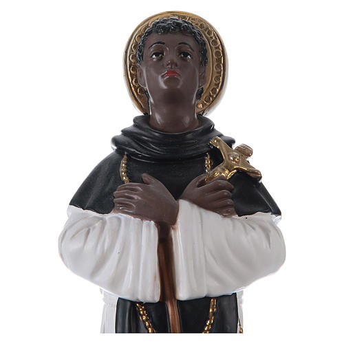 San Martino di Porres gesso 30 cm 2