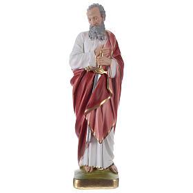 Saint Paul Plaster Statue, 35 cm hand painted s1