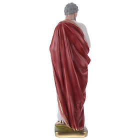 Saint Paul Plaster Statue, 35 cm hand painted s4
