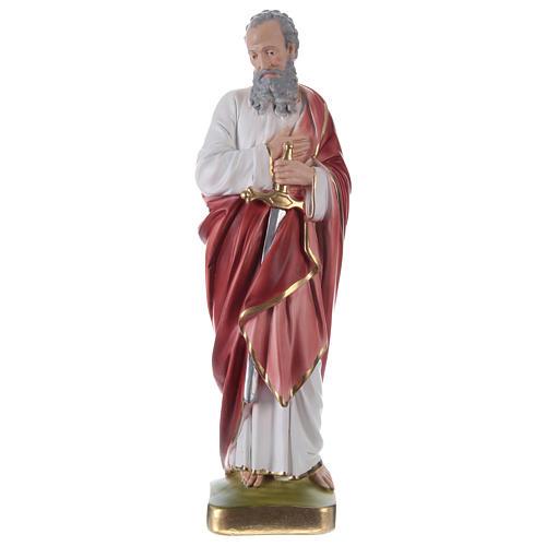 Saint Paul Plaster Statue, 35 cm hand painted 1