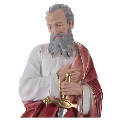 Saint Paul Plaster Statue, 35 cm hand painted 2