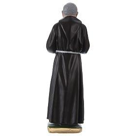 Statue en plâtre Padre Pio 30 cm s4