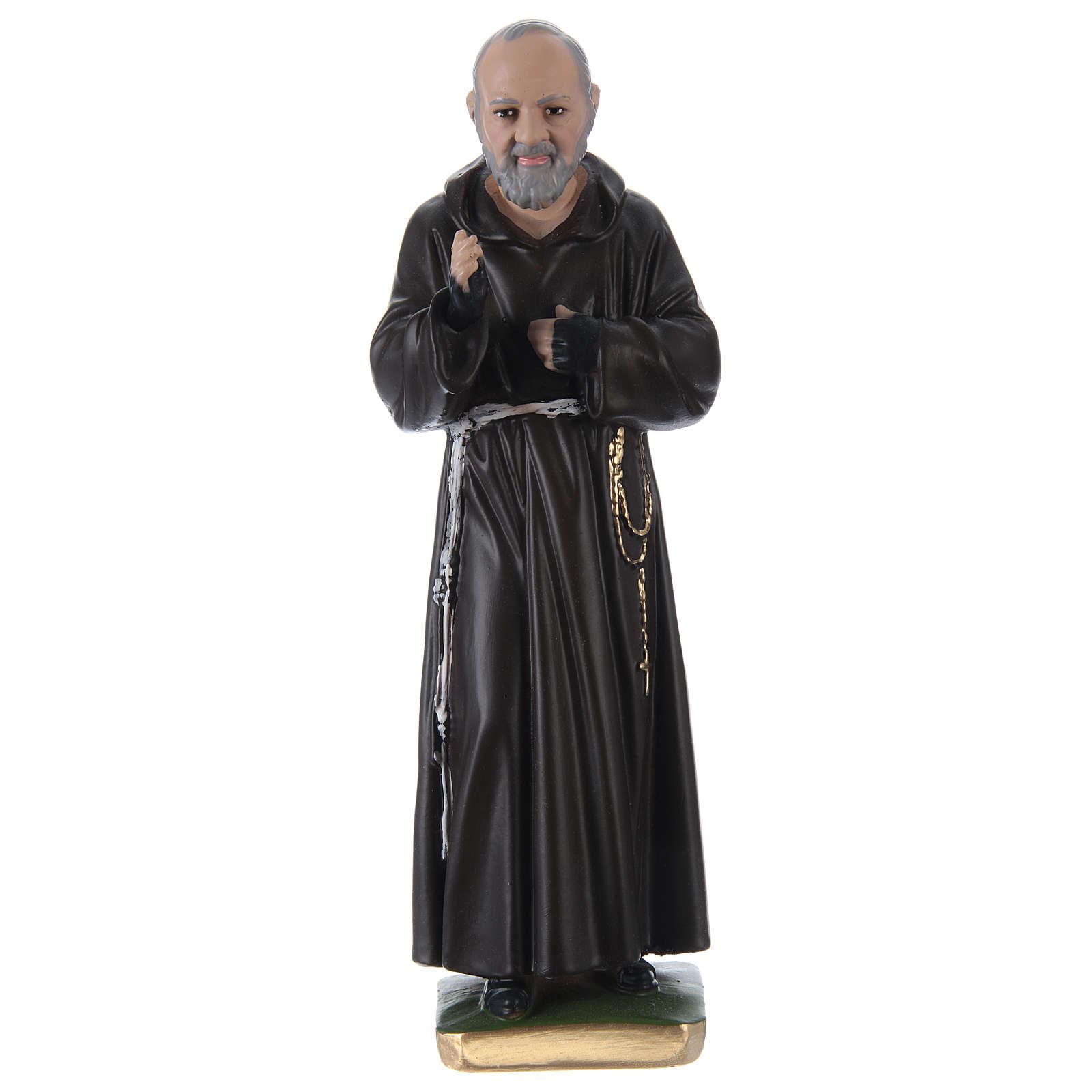 Father Pio Plaster Statue, 30 cm 4