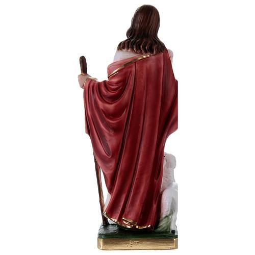 Jesus the Good Shepherd 30 cm in plaster 4